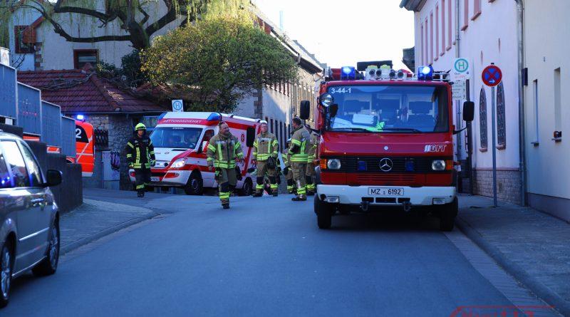 mainz112 Einsatzfotos Ober-Olm Scheunenbrand